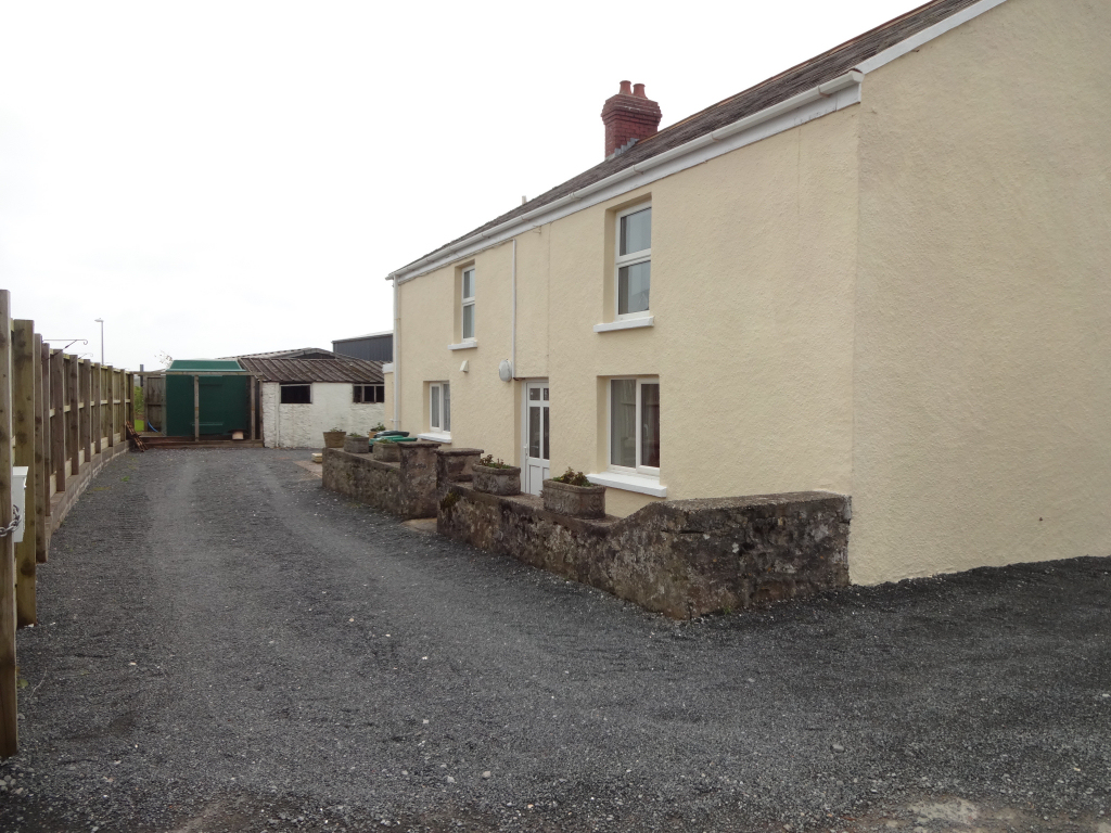 Back of house and parking